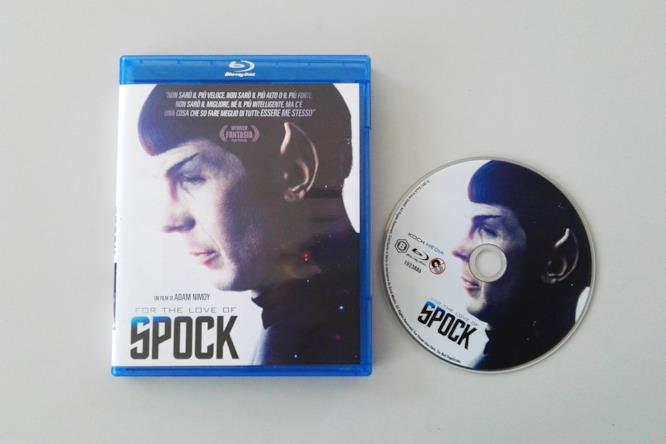 For the Love of Spock: disco e custodia Blu-ray