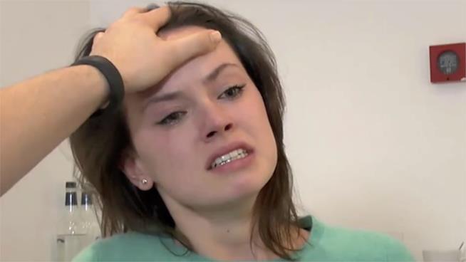 Daisy Ridley sbaraglia la concorrenza durante il provino di Star Wars