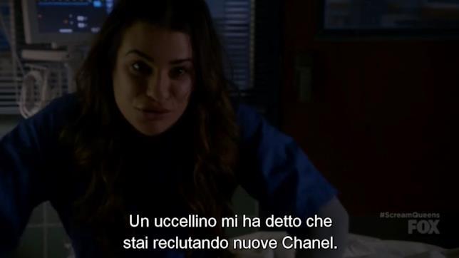 Hester scopre che Chanel sta cercando nuove adepte