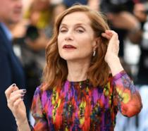 Isabelle Huppert a Cannes 70