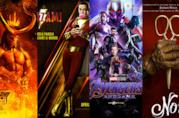 I poster di Hellboy, Shazam!, Avengers: Endgame, Noi