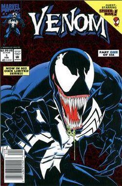 Venom: Lethal Protector, copertina del primo numero