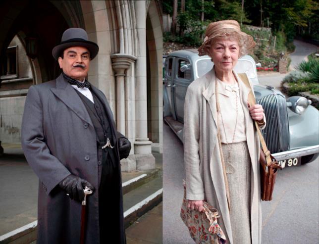 Hercule Poirot e Miss Marple