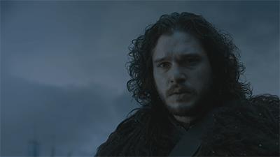 GIF di Jon Snow in Game of Thrones