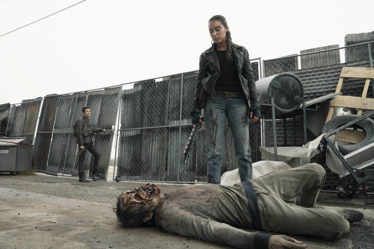 Althea e Alicia nella Stagione 5 di Fear The Walking Dead