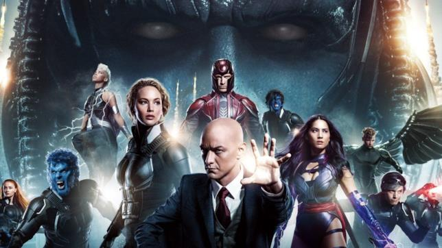 Il Professor X e tutti i suoi X-Men nel capitolo Apocalisse