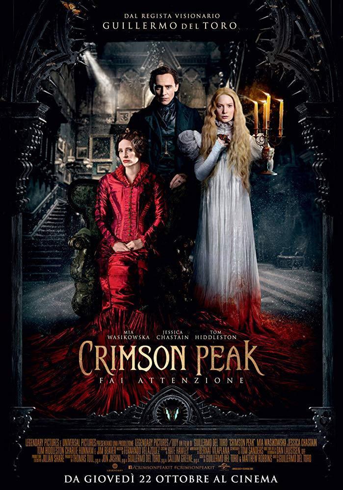 Il poster di Crimson Peak
