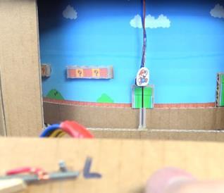 Questo Super Mario Bros. in cartone è completamente giocabile!
