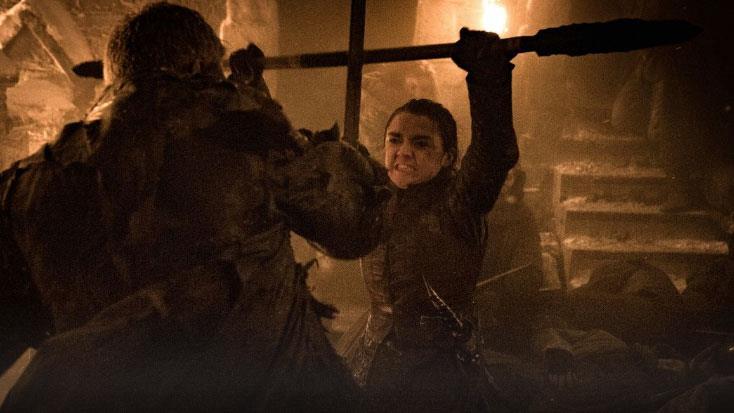 GoT 8x03: Arya combatte e Grande Inverno