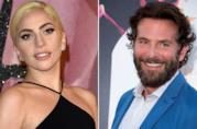 Lady Gaga e Bradley Cooper sorridenti a 2 occasioni ufficiali