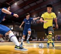 La modalità Volta in FIFA 20 in uno screenshot