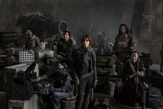 Il commando Rogue One al completo
