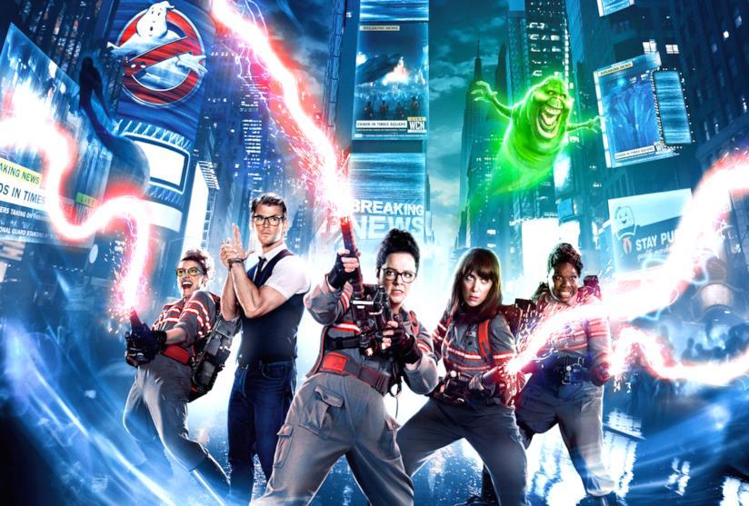 Il poster ufficiale del nuovo Ghostbusters