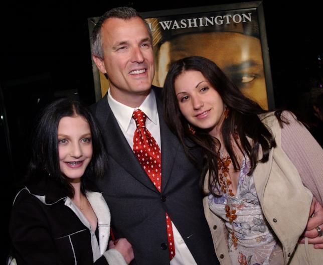 Nick Cassavetes con le figlie alla prima di John Q