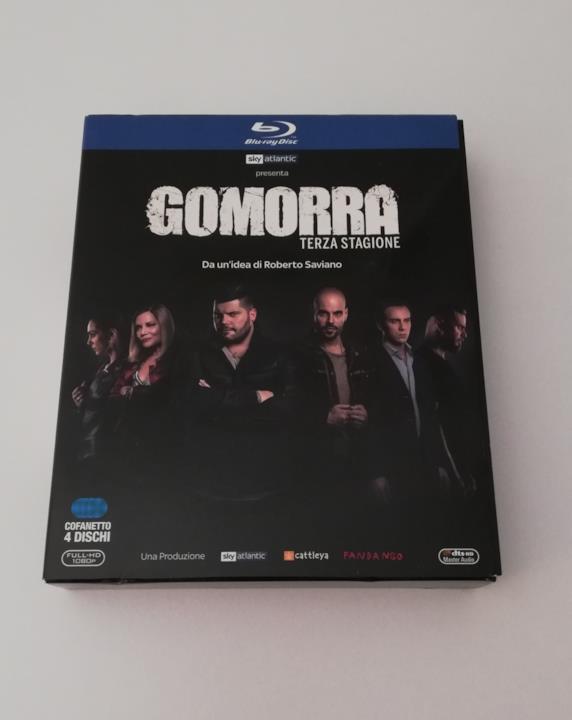 Gomorra - La serie 3, cover del cofanetto