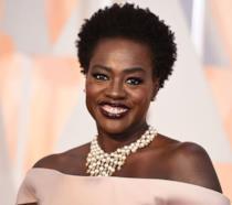 Viola Davis sul red carpet degli Oscar