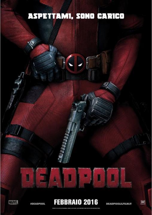 Aspettami, sono carico: nuovo poster italiano di Deadpool