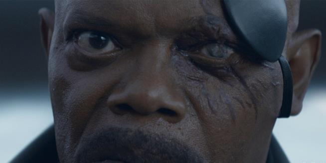 Nick Fury mostra le sue cicatrici
