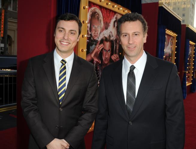 John Francis Daley e Jonathan Goldstein a una première