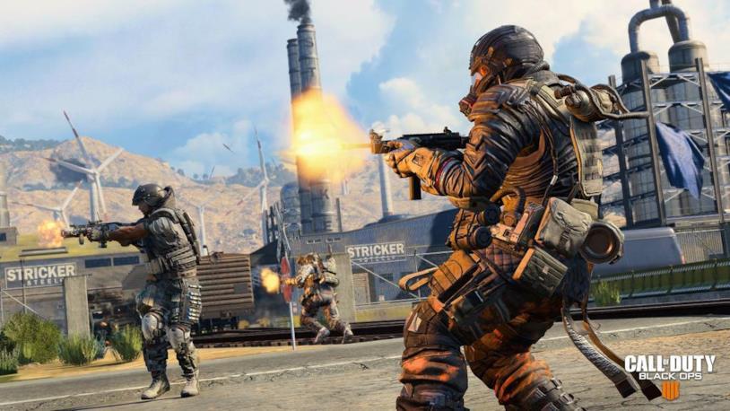 Screenshot di una porzione di gioco di Call of Duty: Black Ops 4