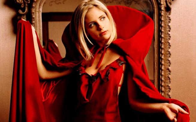 Sarah Michelle Gellar in Buffy