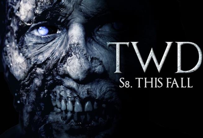 Un vagante al centro del primo artwork dell'ottava stagione di The Walking Dead ispirato a GOT