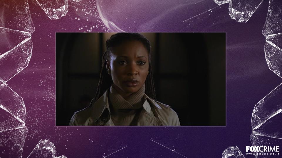 """Shanola Hampton, stagione 7 episodio 20 (""""La società"""")."""
