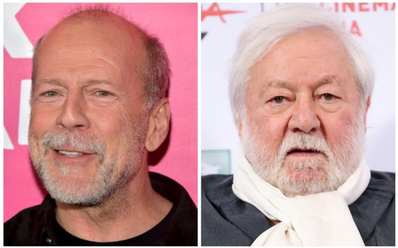 Bruce Willis e Paolo Villaggio in primo piano