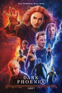 The Phoenix Will Rise, la locandina coi protagonisti di Dark Phoenix