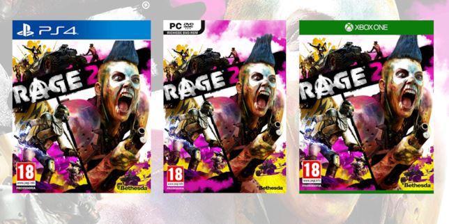Rage 2 versioni videogioco