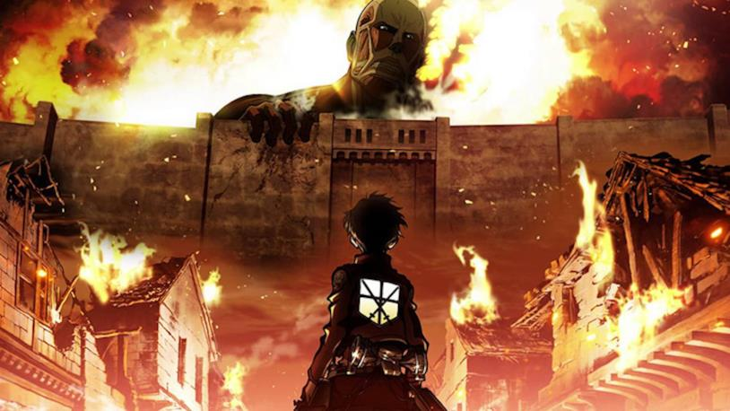 Gigante colossale cover Attack on Titan
