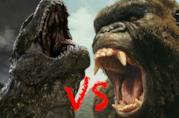 Godzilla si prepara ad affrontare Kong nella cover