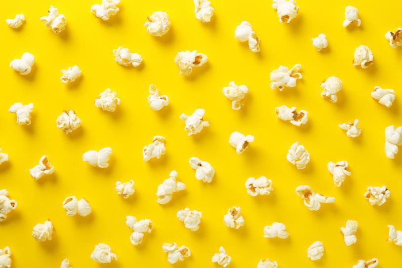 Una confezione di pop-corn