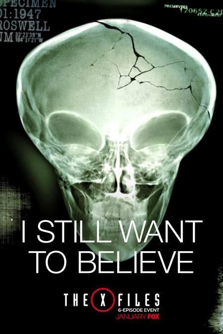 Locandina della nuova serie The X-Files