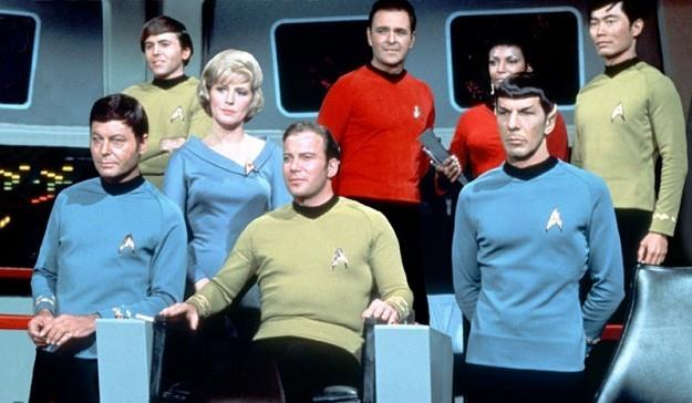 I protagonisti di Star Trek - The Original Series