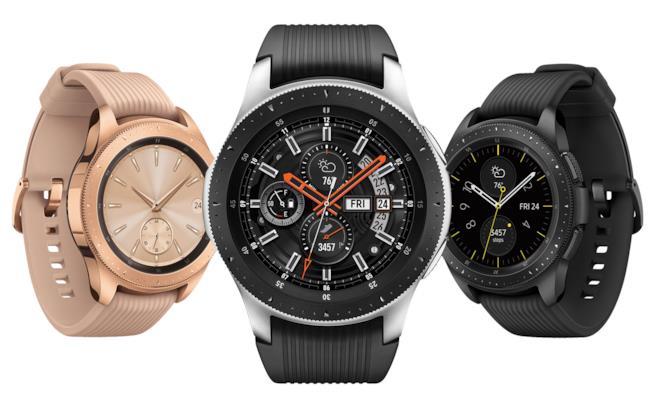 Galaxy Watch nelle tre colorazioni