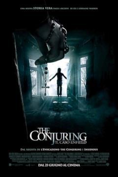 I pericoli di Enfield nella locandina di The Conjuring 2