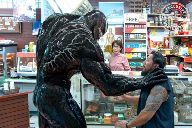Venom all'azione