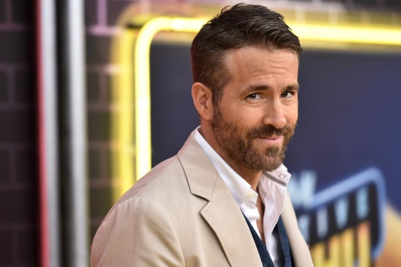 Un mezzobusto dell'attore Ryan Reynolds