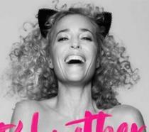 Gillian Anderson posa nuda per la PETA