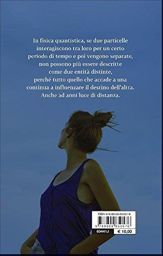 Simona Sparaco, Equazione di un amore, retro copertina