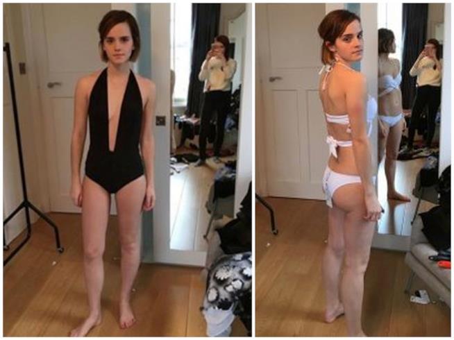 Alcuni scatti rubati a Emma Watson