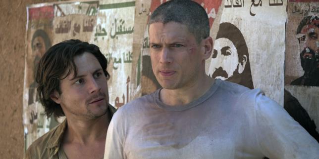 Prison Break 5 scena