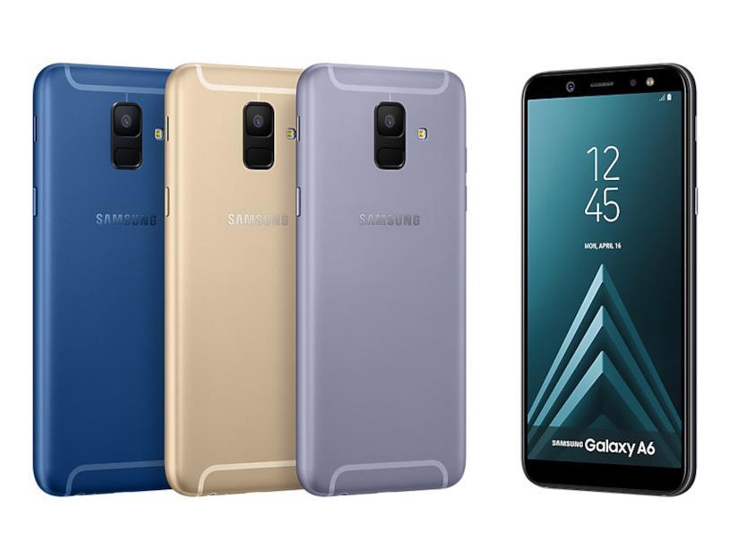 Immagine stampa di Samsung Galaxy A6