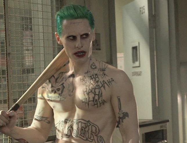 I tatuaggi del Joker di Leto