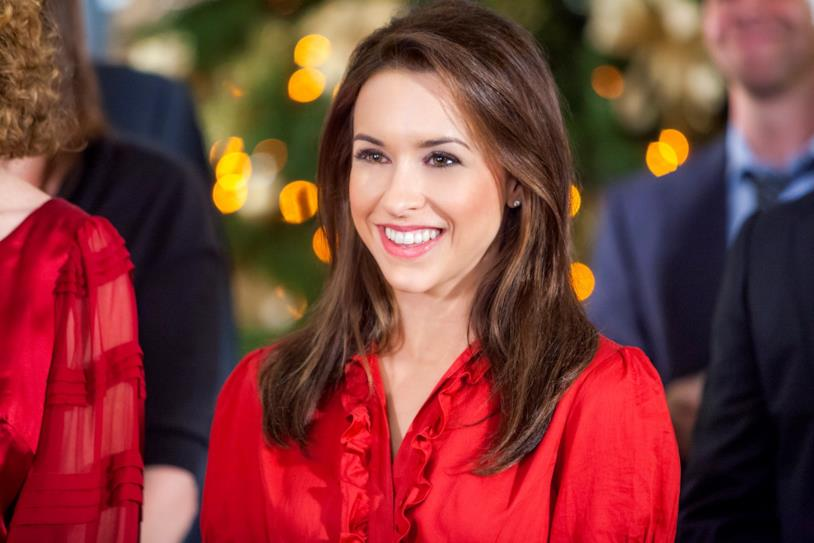 Lacey Chabert in rosso