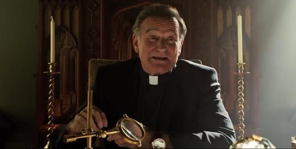 Robin Williams in una scena di Big Wedding