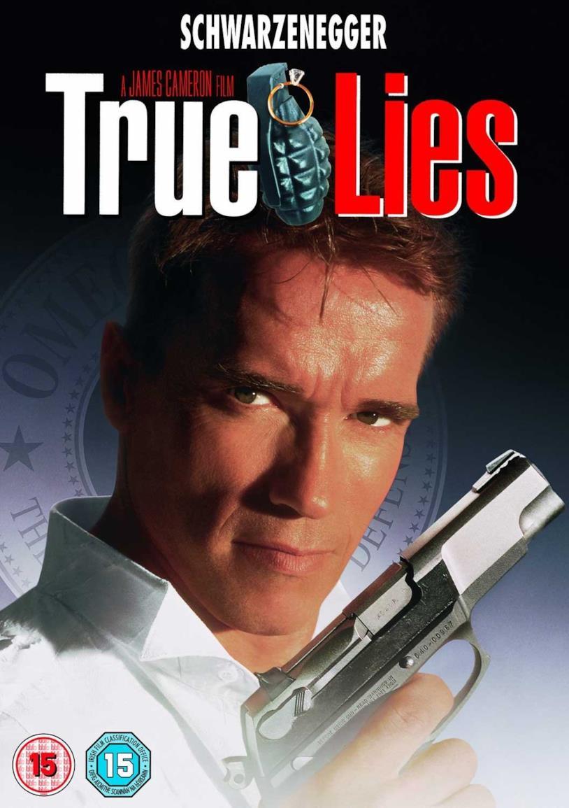 True Lies, la copertina della versione DVD