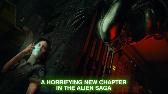 Amanda e lo xenomorfo in Alien: Blackout