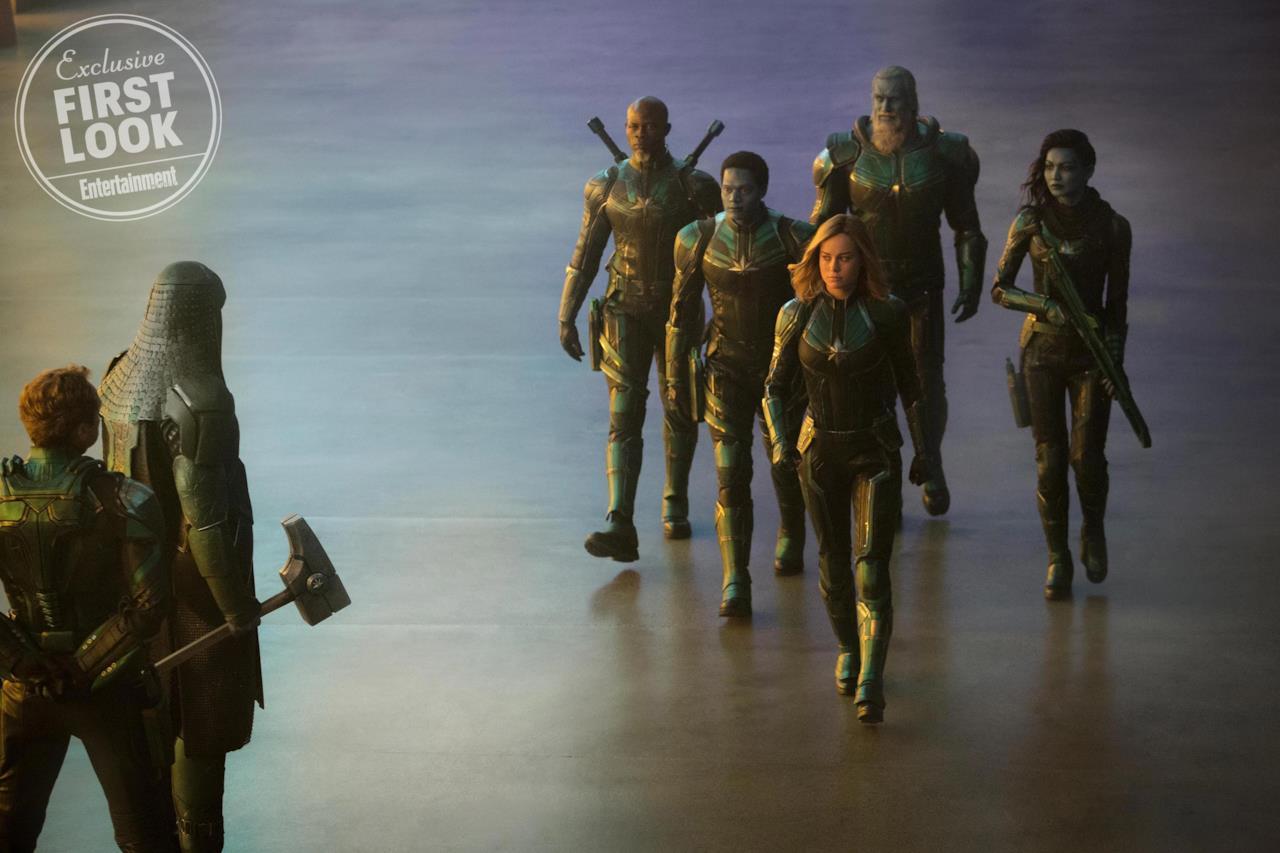 Carol Danvers tra i Kree della squadra speciale Starforce